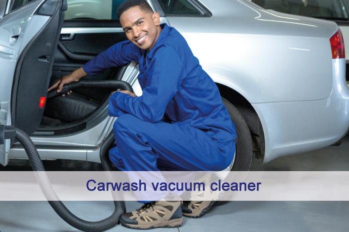 Carwash vacuum cleaner